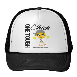 One Tough Chick Brain Tumor Warrior Trucker Hat