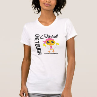 One Tough Chick Breast Cancer Warrior T Shirts