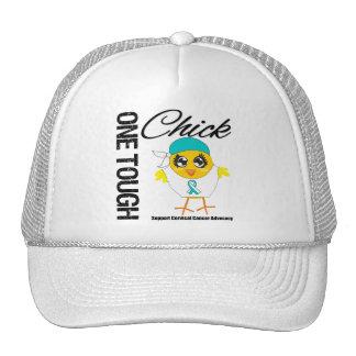 One Tough Chick Cervical Cancer Warrior Trucker Hat