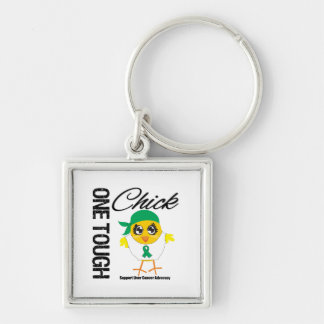 One Tough Chick Liver Cancer Warrior Key Chain
