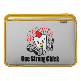 One Tough Chick MacBook Sleeve