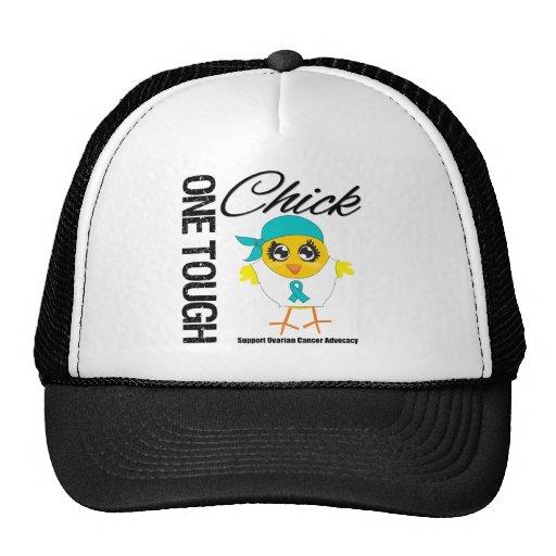 One Tough Chick Ovarian Cancer Warrior Trucker Hat