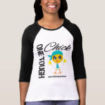 One Tough Chick Ovarian Cancer Warrior Tshirt