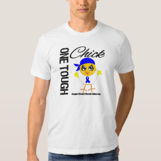One Tough Chick Rectal Cancer Warrior Tshirt