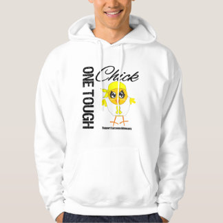 One Tough Chick Sarcoma Cancer Advocacy Hoodie