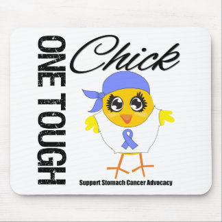 One Tough Chick Stomach Cancer Warrior Mousepad