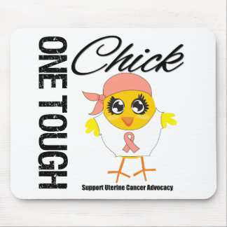 One Tough Chick Uterine Cancer Warrior Mouse Pad