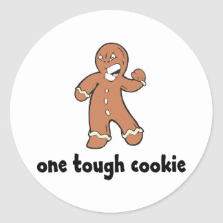 One Tough Cookie Kids Classic Round Sticker