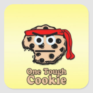 One Tough Cookie Stickers