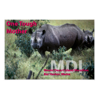 One Tough Mother - Undated Poster