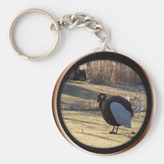 One Tough Old Bird Keychains