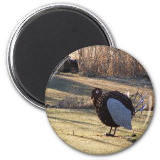 One Tough Old Bird 2 Inch Round Magnet