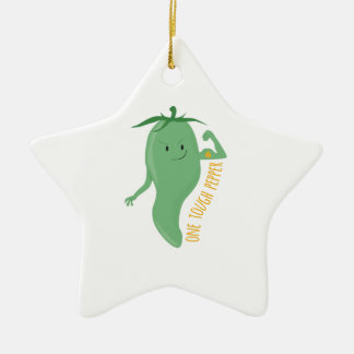 One Tough Pepper Christmas Tree Ornaments