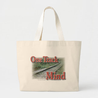 One Track Mind Canvas Bag