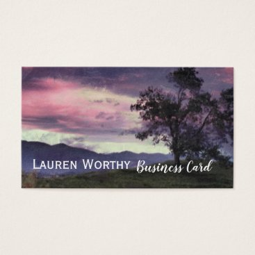 One Tree Hill Business Card