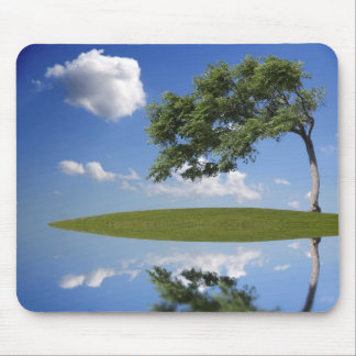 One tree on island mouse pad