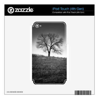 One tree skin for iPod touch 4G