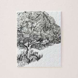 One tree so fair jigsaw puzzle
