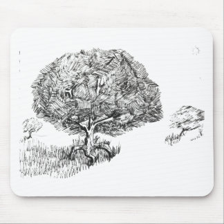 One tree so fair mouse pad
