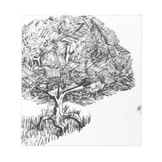 One tree so fair notepad