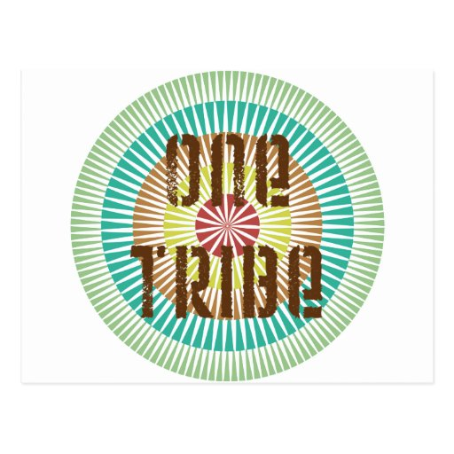 One Tribe Post Card