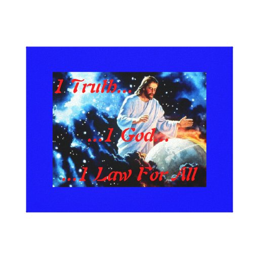One Truth Canvas Print