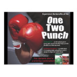 One Two Punch Postcard