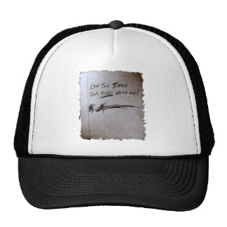 One Two Three, Don't Mess With Me Trucker Hats