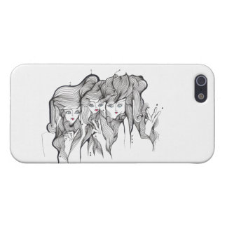 One Two Three iPhone SE/5/5s Cover