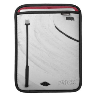 One, Two, Three - Snow! - Monogram Sleeve For iPads