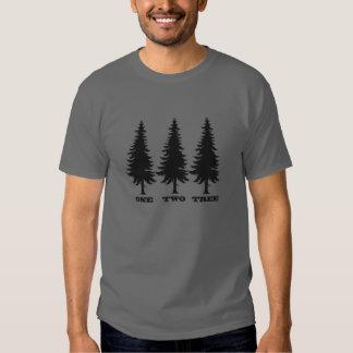One, Two, Tree Tee Shirt