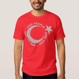 One Ummah Star & Crescent T Shirt