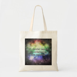 One Universe Tote Canvas Bags