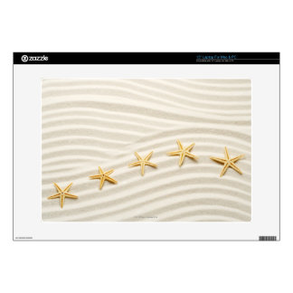 """One unstraight row of starfishes skin for 15"""" laptop"""