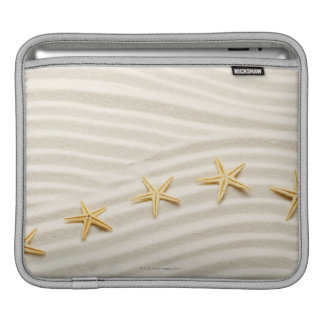 One unstraight row of starfishes sleeve for iPads