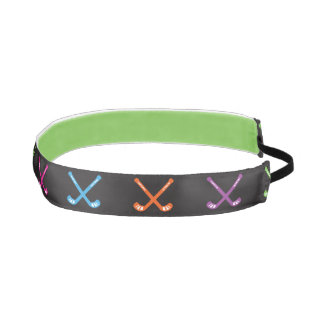 One Up Bands Field Hockey Neon Athletic Headbands