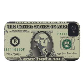 One USD$ Dollar Blackberry  Case Case-Mate iPhone 4 Case