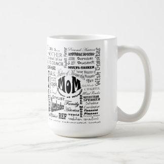 one very exhausted lady coffee mug