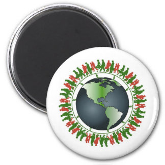 One voice is a whisper... 2 inch round magnet