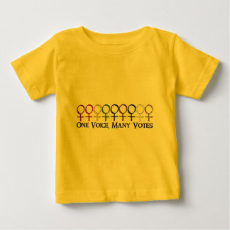 One Voice, Many Votes Baby T-Shirt