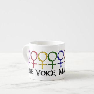 One Voice Many Votes Espresso Mug
