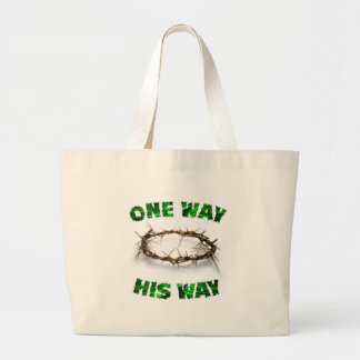 One Way, His Way Canvas Bags