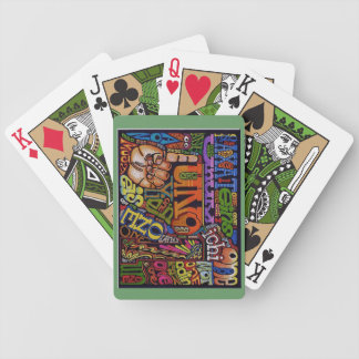 ONE way is Best! Bicycle Playing Cards