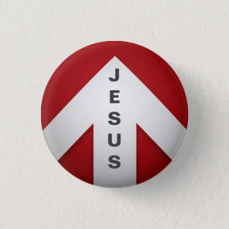 One Way - Jesus Button