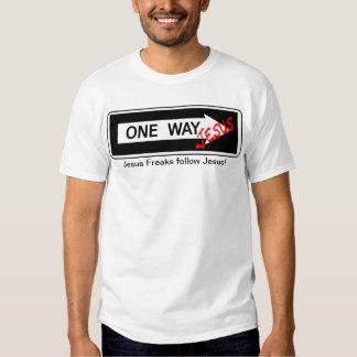 One Way Jesus T Shirt