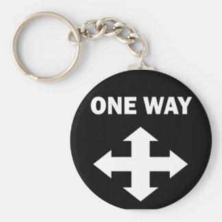 One Way Keychain