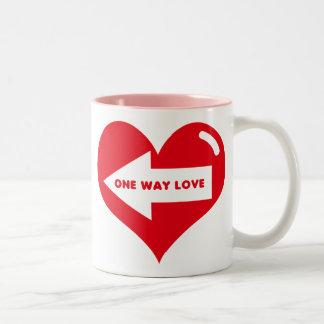 ONE WAY LOVE Mug