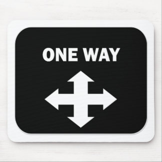 One Way Mouse Pad
