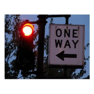 One Way Postcard