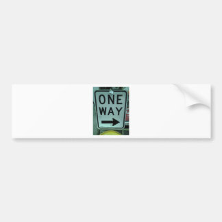 One Way Products Bumper Sticker